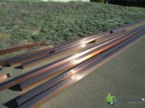 Copper Seamless Gutters Pre-Installation