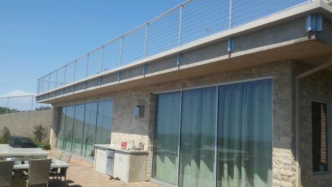 custom box gutter around balcony railing - Rancho Palos Verdes 90274(2)