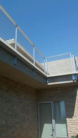 custom box gutter around railing for balcony Rancho Palos Verdes 90274(1)