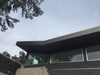 fascia cover standing seam vertical siding custom box leader heads and downspouts bonderized material 24 gauge Santa Monica 90405(15)