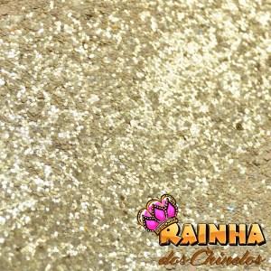 Lonita Glitter Grosso Dourada