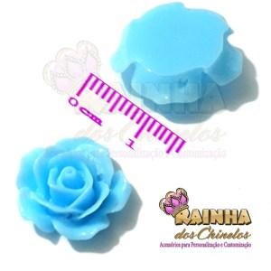 Florzinha ABS Azul Bebê