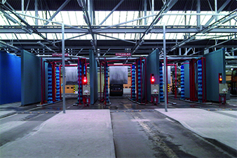 Rainharvesting system Cardiff Bus Depot