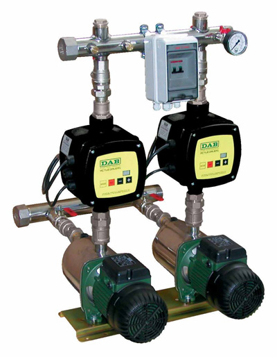 Variable speed booster