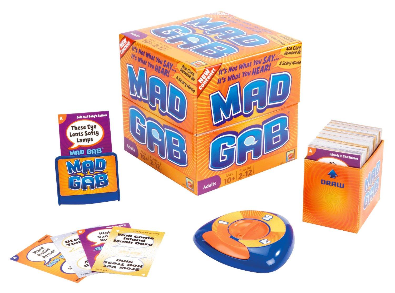 Amazon Mad Gab Game Only 9 99 Reg 24 99