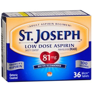St. Joseph Low Dose Aspirin On...