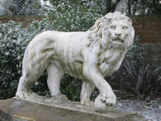 Featured - Lion Statue at Ryde