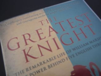 Part of the The Greatest Knight book cover