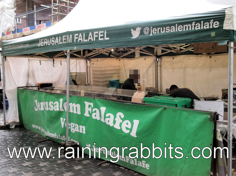 Jerusalem Falafel at Berwick Street Market in London