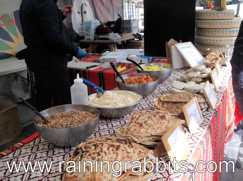 Moroccan Food Stall at Kings Cross
