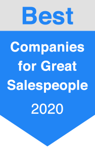 Award for Best Companies for Salespeople