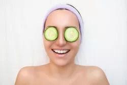 cucumber is very helpful in reducing dark circles