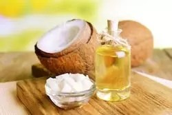 Coconut oil remove a fine line and wrinkle give you amazing younger, smooth and soft baby skin