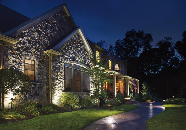 outdoor landscape lighting system led