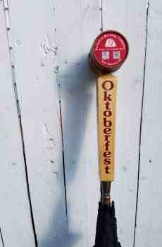 Berkshire Brewing Company beer tap umbrella