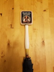 Sam Adams Boston Lager Tap Handle Umbrella