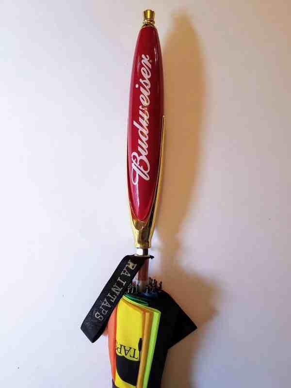 Budweiser Beer Tap Handle Umbrella
