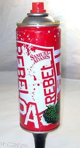 Sam Adams Rebel IPA Tap Handle