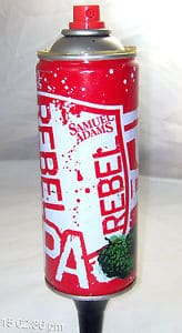 Sam Adams Rebel IPA Tap Handle