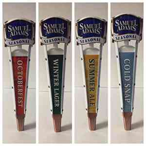 Sam Adams Seasonal Tap Handle