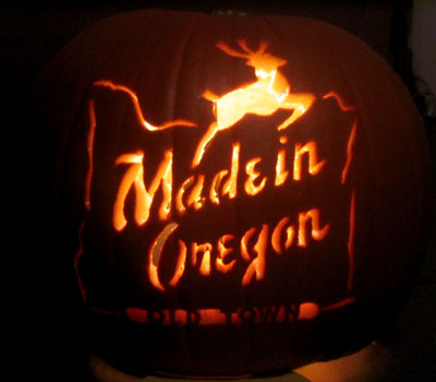 Made in Oregon Jackolantern