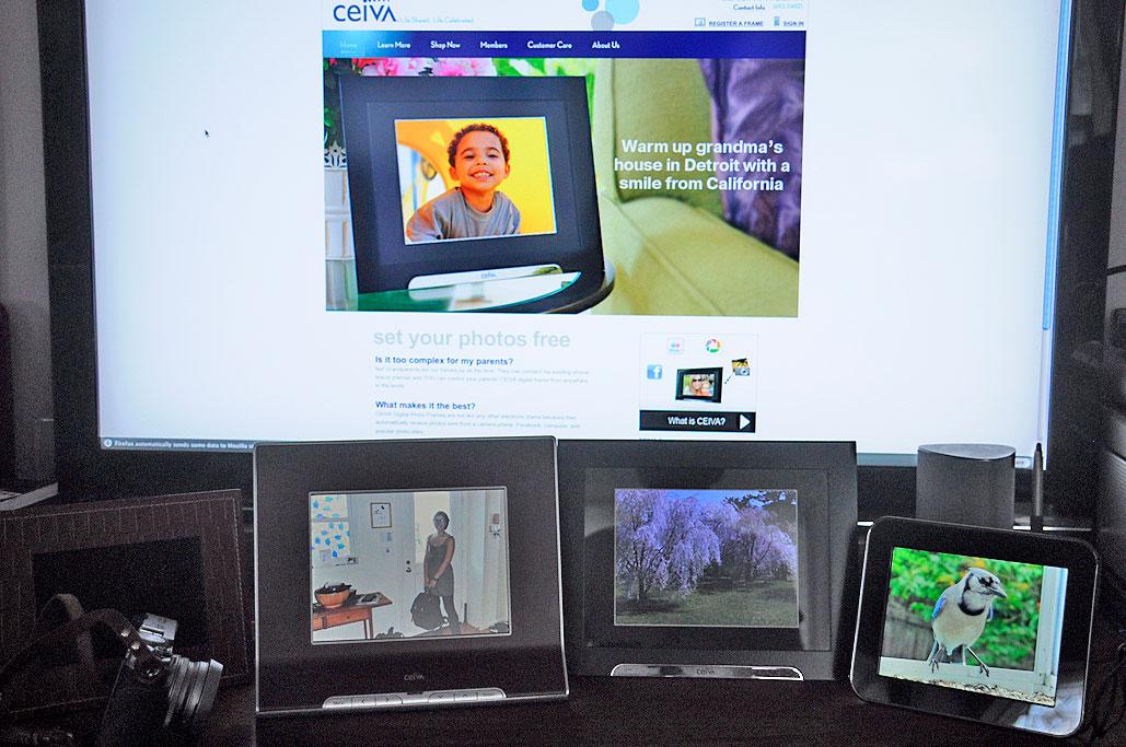 Digital Photo Frames : Ceiva wins | RainyDayMagazine