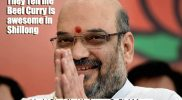 Poster Amit Shah Beef Curry