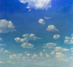 Tiivistymiä / Condensations (2014), öljy kankaalle / oil on canvas, 151 x 165 x 2 cm