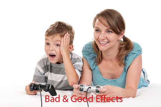 25  Positive and Negative Effects of Video Games   Raise Smart Kid Mother and child playing a video game