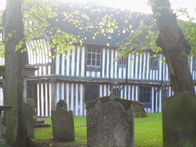 A photo of the 15th Century Merchants House