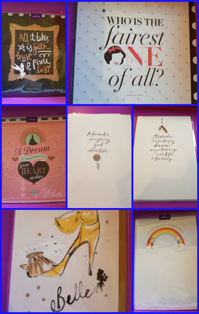 a selection of friendship cards from Hallmark