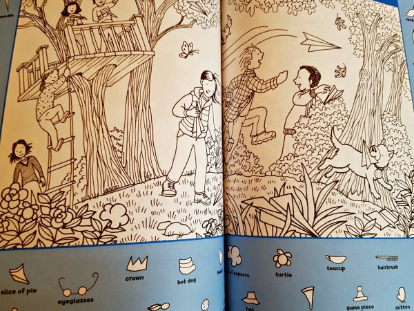 pages from the colouring book