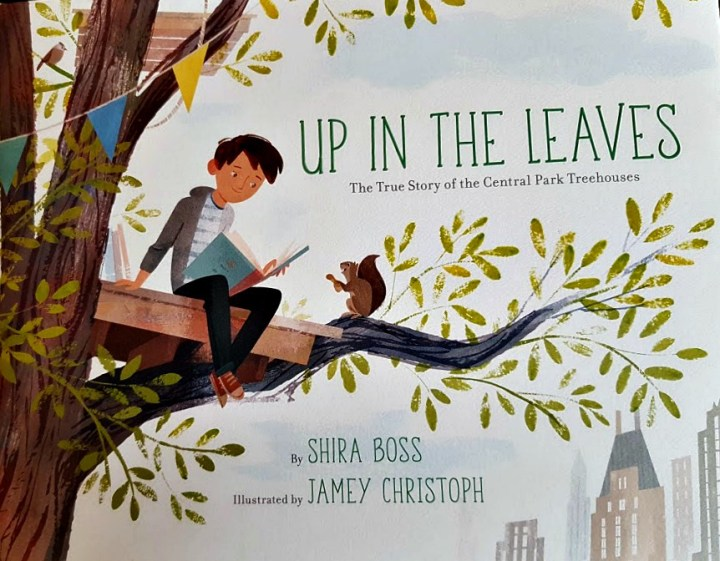 cover art, Up in the Leaves