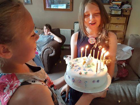 last year's birthday cake