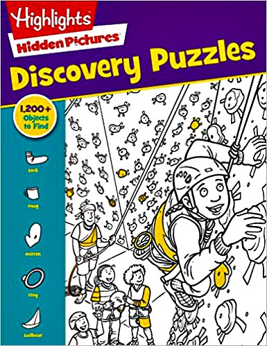 front cover, Discovery puzzles