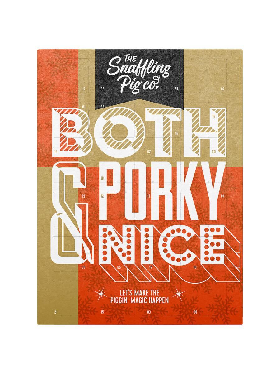 Pork scratching advent calendar