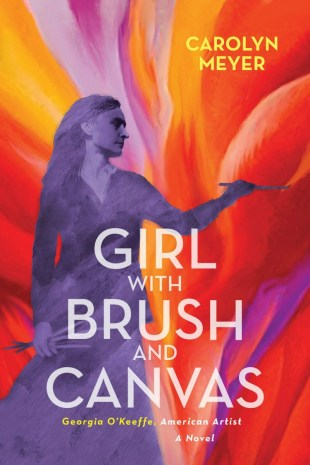 front cover of book showing an impression of a woman painting