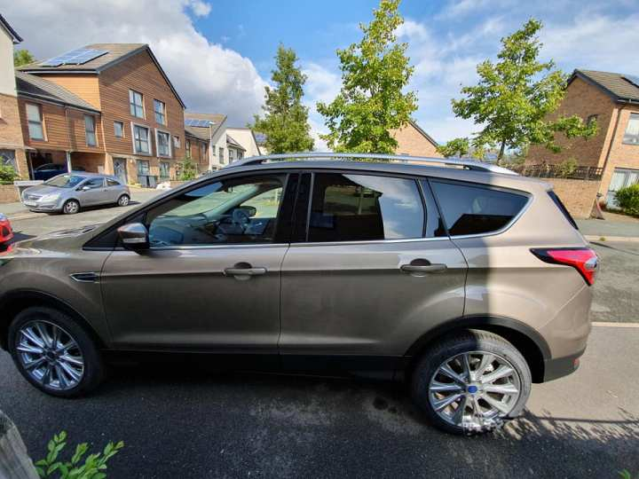 Ford Kuga family safety car