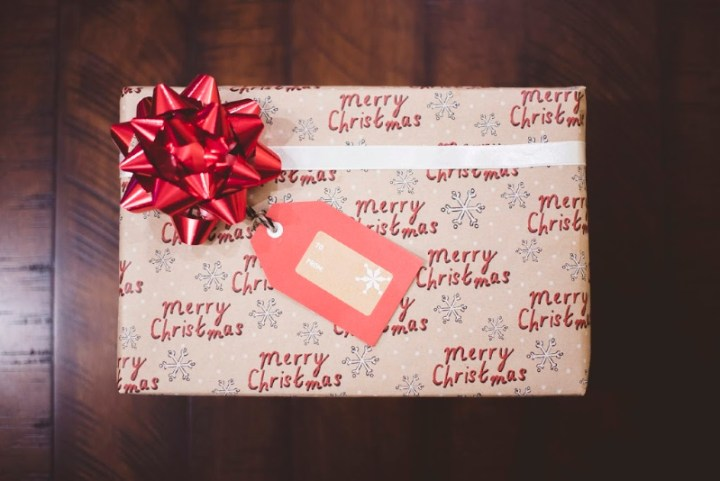 a neatly wrapped Christmas present.