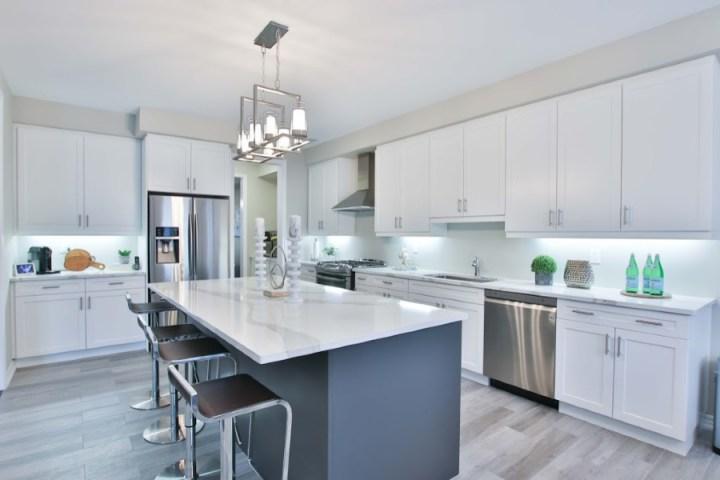 house upgrade, brand new kitchen