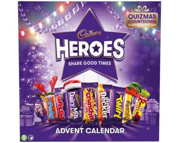 Cadburys Hero Advent Calendar