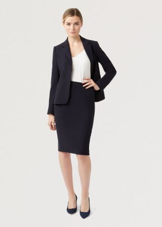 workplace fashion skirt suit