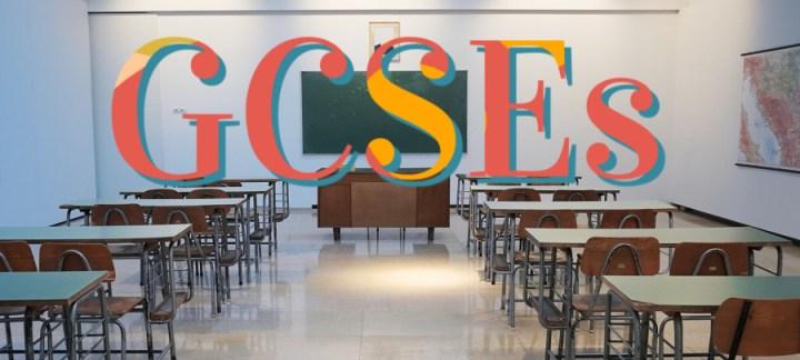 GCSEs an exam room