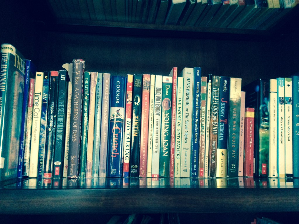 Young readers shelf