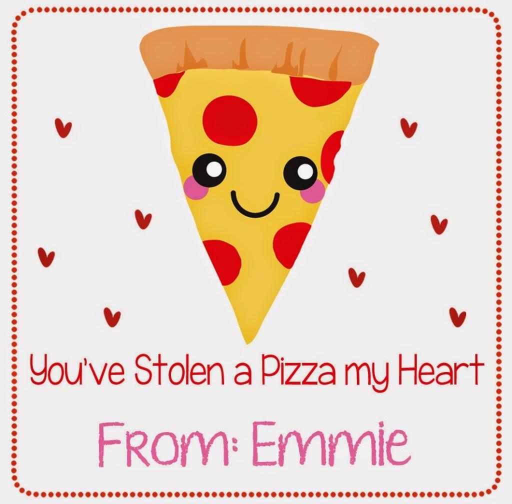 Pizza Valentine sample