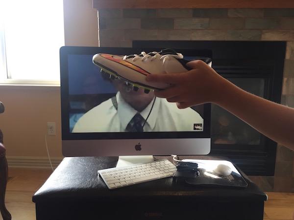 Skype soccer shoe