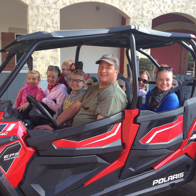 Midway Reunion 4-wheeling