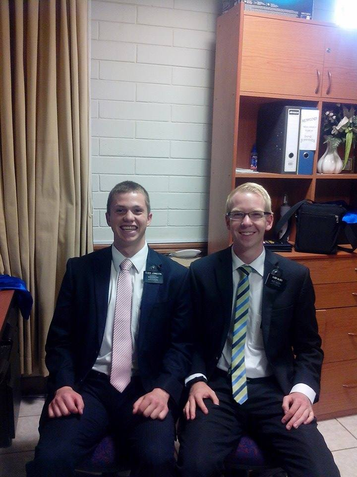 Elder Livi and comp December 2015