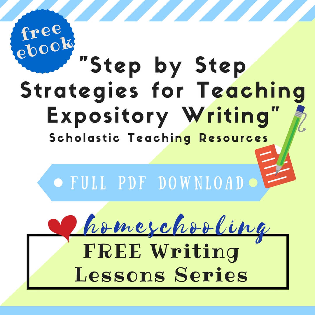 Free Writing Lessons Series Step By Step Strategies For