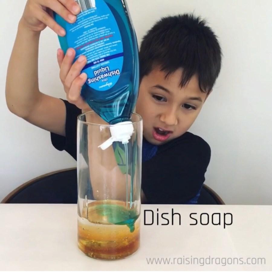 Liquid Density Experiment